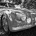 1954 Jaguar Xk 120 Se Ots  Bw by Rich Franco
