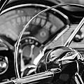 1956 Chevrolet Belair Steering Wheel by Jill Reger