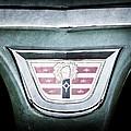 1956 Dodge Emblem by Jill Reger