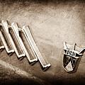 1956 Ford Thunderbird Emblem by Jill Reger