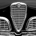 1959 Alfa Romeo Giulietta Sprint Grille by Jill Reger