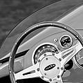 1959 Devin Ss Steering Wheel by Jill Reger