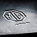 1959 Mg A 1600 Roadster Emblem by Jill Reger