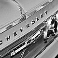 1964 Chevrolet Impala Taillights And Emblems by Jill Reger