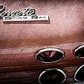1965 Chevrolet Corvette Taillight Emblem by Jill Reger