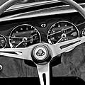 1965 Lotus Elan S2 Steering Wheel Emblem by Jill Reger