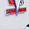 1966 Chevrolet Biscayne Emblem by Jill Reger