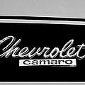 1967 Chevrolet Camaro Emblem by Jill Reger