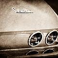 1967 Chevrolet Corvette Taillight by Jill Reger