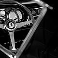 1967 Ferrari 275 Gtb 4 Steering Wheel Emblem by Jill Reger