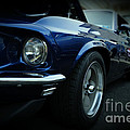 1969 Ford Mustang Mach 1 Fastback by Paul Ward