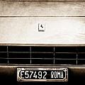 1972 Ferrari 365 Gtb -4a Grille Emblem by Jill Reger