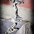 1976 Rolls Royce Silver Shadow Hood Ornament by Jill Reger