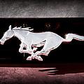 1994 Ford Mustang Corbra Custom Convertible Emblem by Jill Reger