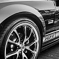 2007 Ford Mustang Shelby Gt Painted Bw   by Rich Franco