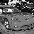 2010 Chevrolet Corvette Grand Sport Bw  by Rich Franco