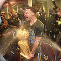 2015 Nba Finals - Game Six by Andrew D. Bernstein