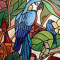3 Birds On A Vine by Cynthia Amaral