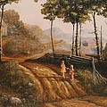 A Country Lane by Duane R Probus