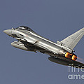 A Eurofighter Typhoon Of The Italian by Ofer Zidon