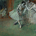 A Group Of Dancers by Edgar Degas