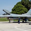 A Hellenic Air Force F-16c Block 52+ by Timm Ziegenthaler