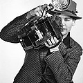 A Press Photographer by Underwood Archives