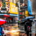 A Rainy Day In New York by Hannes Cmarits
