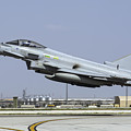 A Royal Air Forcetyphoon Fgr4 Taking by Daniele Faccioli