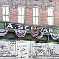 A Schwab Beale Street Memphis by Liz Leyden