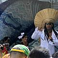 A View Of Carlinhos Brown At The 2009 Cleansing Of 46th Street by James Connor