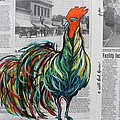 A Well Read Rooster by Janice Pariza