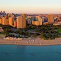 Aerial View Of North Avenue Beach by Panoramic Images