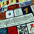 Aids Quilt -- 1 by Cora Wandel