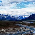 Alaska Mountain Range by Thomas R Fletcher