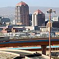 Albuquerque Skyline by Bill Cobb