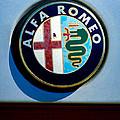 Alfa Romeo Emblem by Jill Reger