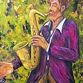 All That Jazz, Saxophone by Sandra Reeves