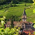 Alsace Church by Brian Jannsen