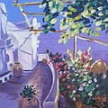 Amalfi Evening by Julie Todd-Cundiff