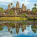Angkor Wat - Cambodia by Luciano Mortula