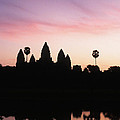 Angkor Wat Sunrise Cambodia by Ryan Fox