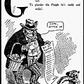 Anti-trust Cartoon, 1902 by Granger