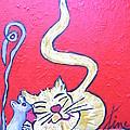 Art Cat by Pikotine Art