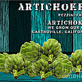 Artichokes Farm by Marvin Blaine