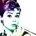 Audrey Hepburn by Marianna Mills
