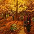 Autumn Bush Creek Track  by Terry Perham