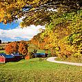 Autumn Farm by Brian Jannsen