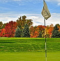 Autumn Golf by Frozen in Time Fine Art Photography
