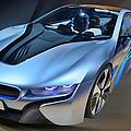 B M W  I8  Concept  2014 by Dragan Kudjerski